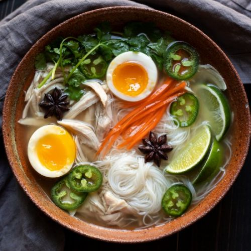 Slow Cooker Chicken Pho