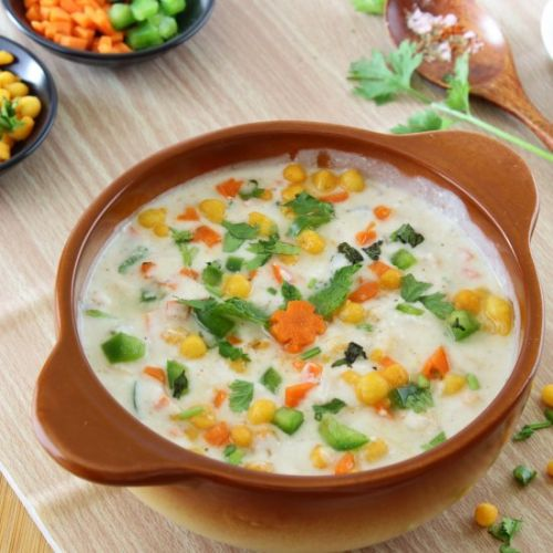 Vegetable Boondi Raita
