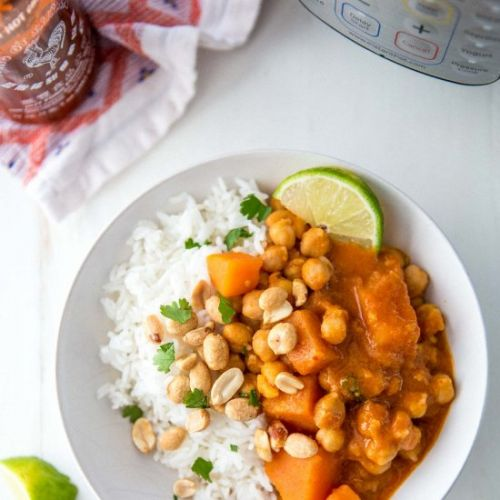 Instant Pot Thai Panang Curry