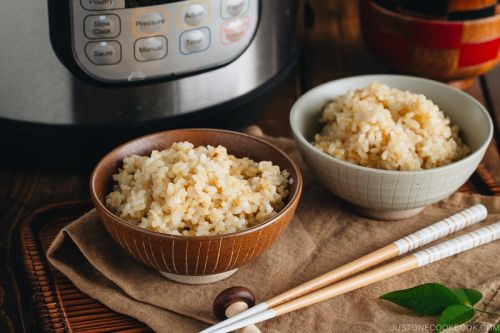 Instant Pot Brown Rice 玄米の炊き方