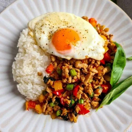 Thai Stir Fried Basil with Pork