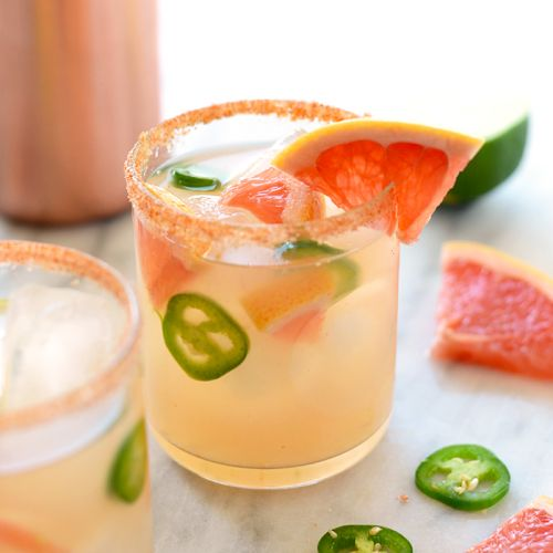 Spicy Grapefruit Margarita Recipe