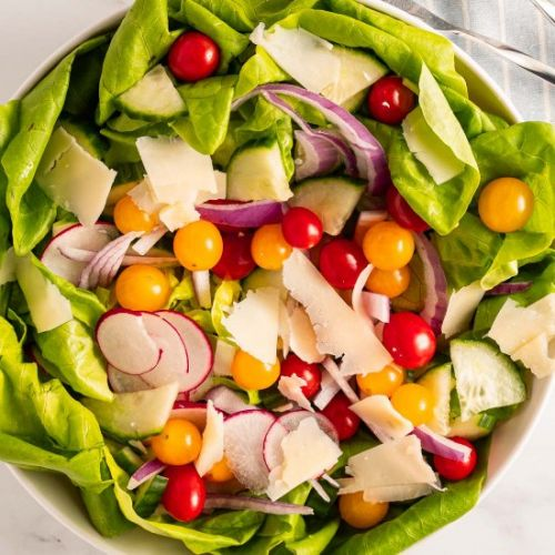 Butter Lettuce Salad with Balsamic