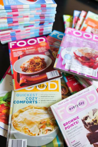 How to Organize Your Old Martha Stewart Everyday Food Magazines