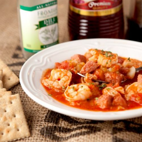 Hearty Sausage and Seafood Stew