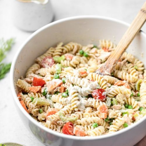 Healthy Tuna Pasta Salad