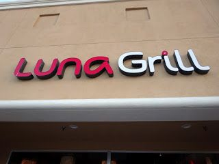 Shooting for the Moon at Luna Grill