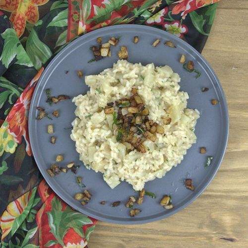 Pear and Wine Risotto
