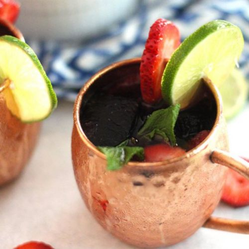 Strawberry Mexican Mules