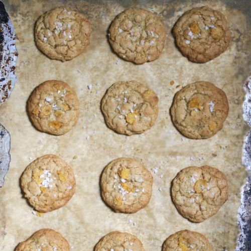 Brown Butter Cornflake Cookies