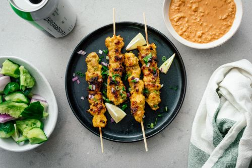 Authentic Malaysian Chicken Satay Recipe and a No Peanut Peanut Sauce
