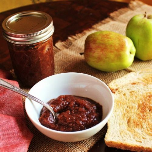 Slow Cooker Spiced Apple Butter