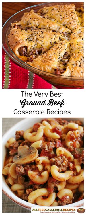 The Very Best Ground Beef Casserole Recipes