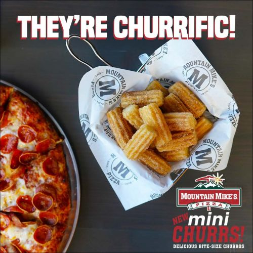 Mountain Mike's Pizza Adds Delicious Bite Size Churros to Menu for a Limited Time