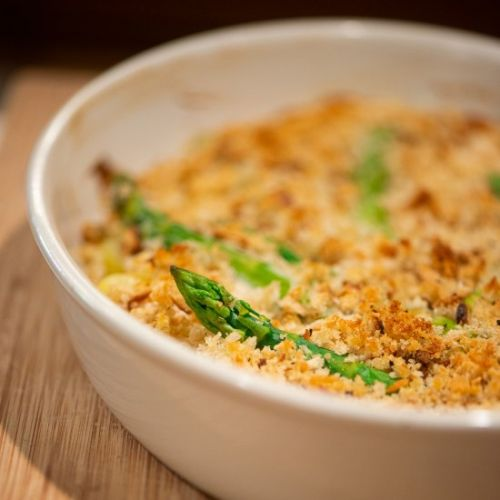 Gratin of Asparagus and Potatoes