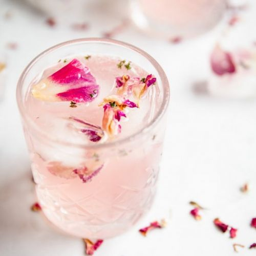Rose Gin Cocktail