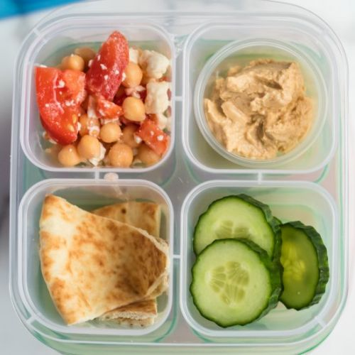 Mediterranean Lunch Snack Box