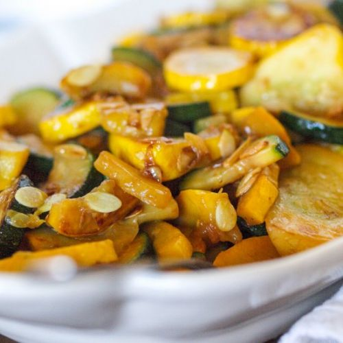 Sautéed Yellow Squash and Zucchini