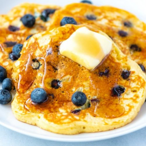 Our Favorite Blueberry Pancakes