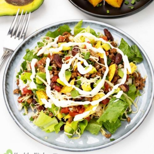 A Healthy, Hassle-free Taco Salad