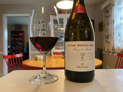 This Etna Rosso is just waiting to sing its song. Listeners wanted