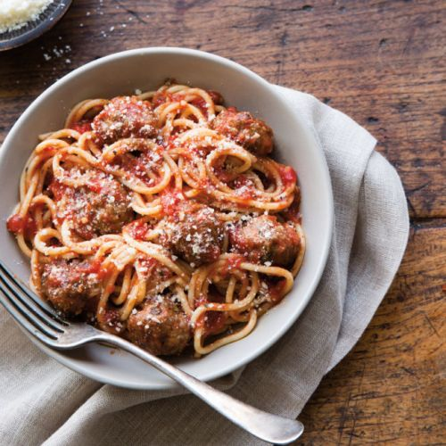 The Classic Spaghetti and Meatballs You Want for Dinner Tonight