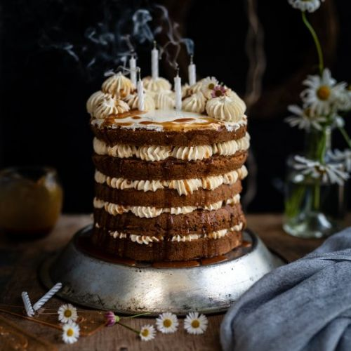 Earl Grey layer cake