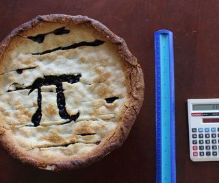 Finding the Volume of Pie Using Pi