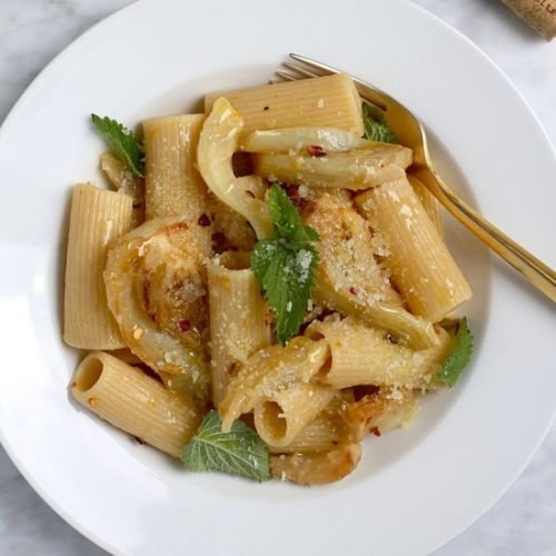 Rigatoni with Fennel and Anchovies