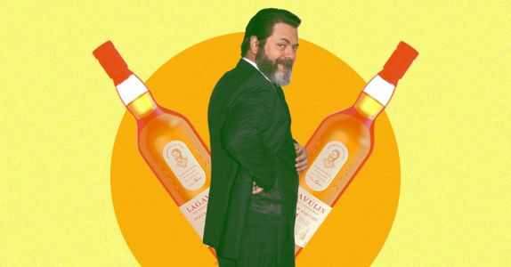Nick Offerman and Lagavulin Release Limited-Edition Guinness Cask Aged Whisky