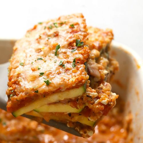 Lasagna Zucchini Casserole Inspired by my AcestryDNA Results!
