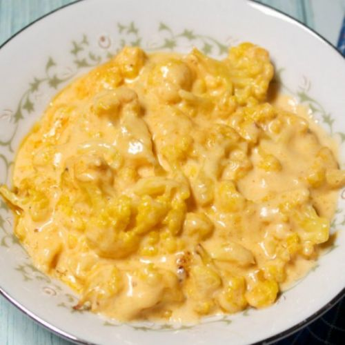 Low Carb Cauliflower Mac and Cheese