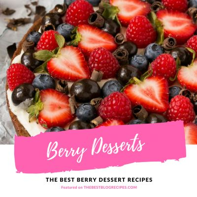 The Best Berry Dessert Recipes