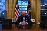 Breaking Down the Symbolic Decor in President Biden's Redesigned Oval Office