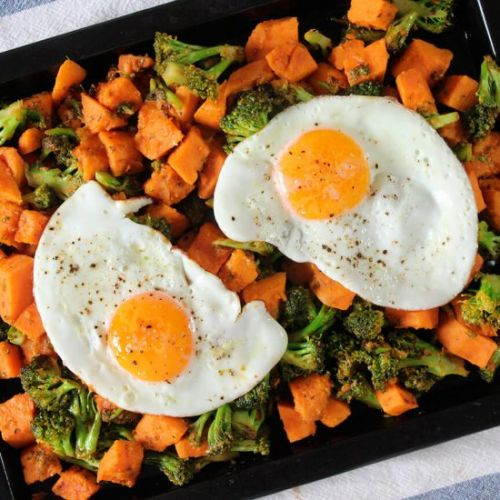 Vegetables breakfast hash