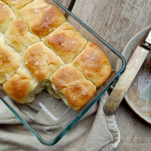 Soft Yeast Rolls made with Pork Fat
