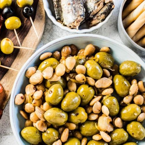 Easy Marinated Olives from Spain