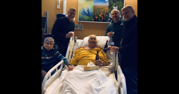 Family Celebrates Grandfather's Life With Final Bud Light