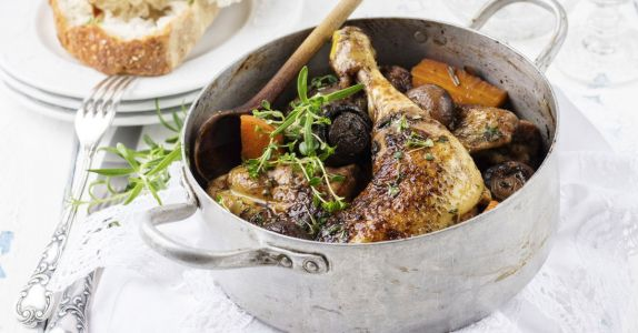 Raising a Glass to Coq au Vin, a 'Sublime French Country Classic'
