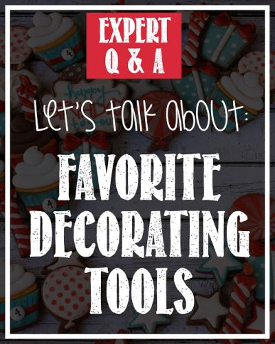 Decorate Like a Pro: Expert Q&A - Favorite Cookie Decorating Tool