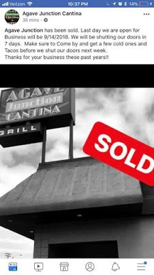 Agave Junction Cantina From Bar Rescue Has Closed