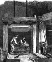 Cider making in Devonshire, 1850