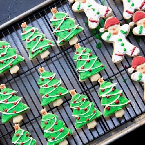 Classic holiday cookies