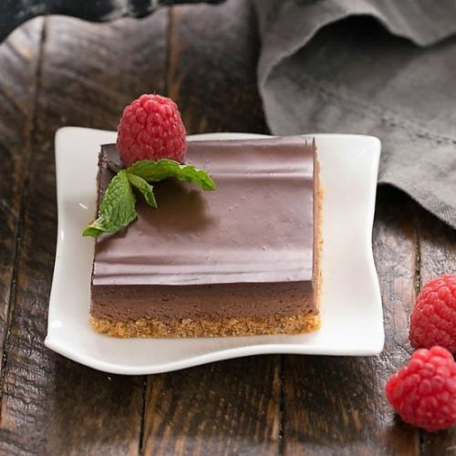 Dark Chocolate Mousse Bars