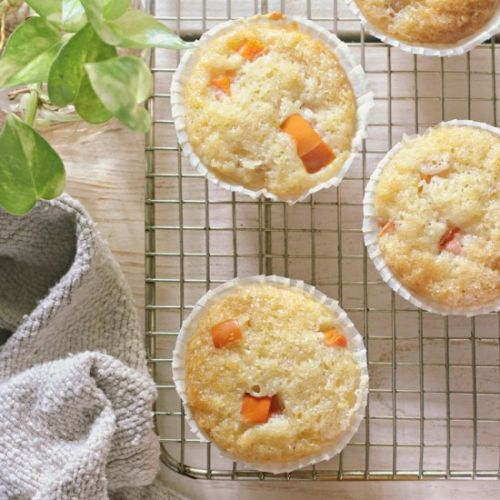 Egg Free Persimmon Muffins